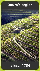 Douro - Region recognized since 1756